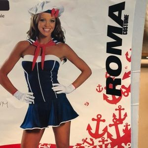 Roma Sexy Sailor Halloween Costume